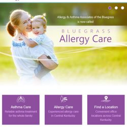 Bluegrass Allergy Care home page