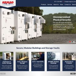 Armag home page