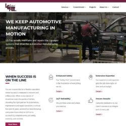 lg fox website homepage
