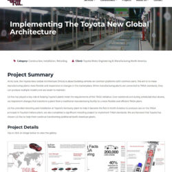 lg fox website project page