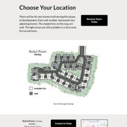 plot map web page